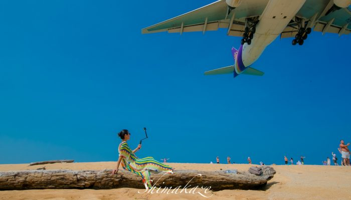 プーケット飛行機ビーチ